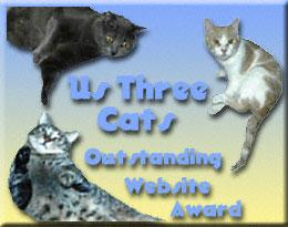 Us Three Cats Award